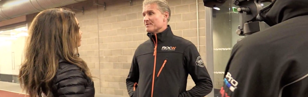 David Coulthard's Lucky Underpants