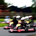 How do you take corners faster in a kart?